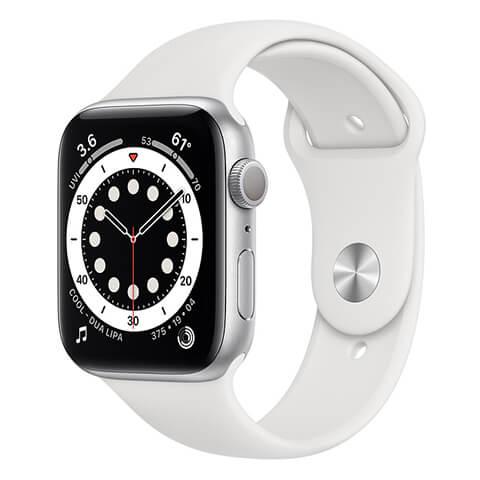 iwatch s6 gps white